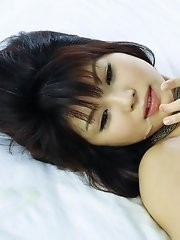 Horny hottie Azumi Harusaki stuffed with meat